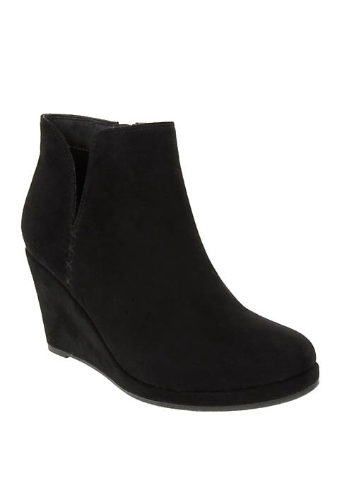 Jesy Wedge Booties