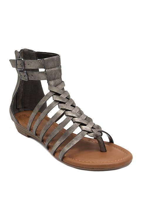 Rampage Saraa Gladiator Sandals