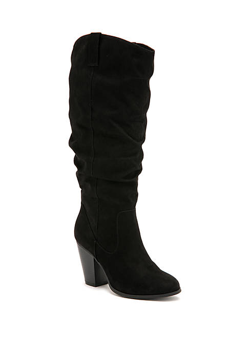 Vicarious Tall Heeled Slouch Boots