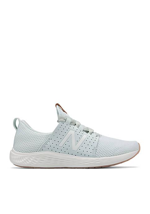 Womens Fresh Foam Sport Ocean Air/ White Munsell Sneakers