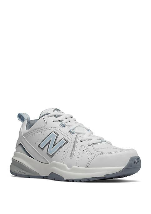 New Balance Womens 608 White Sneaker