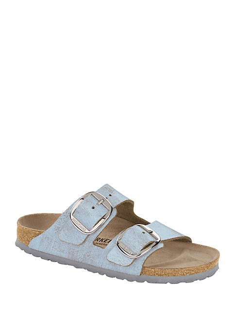 Birkenstock Arizona Big Buckle Washed Blue Sandals