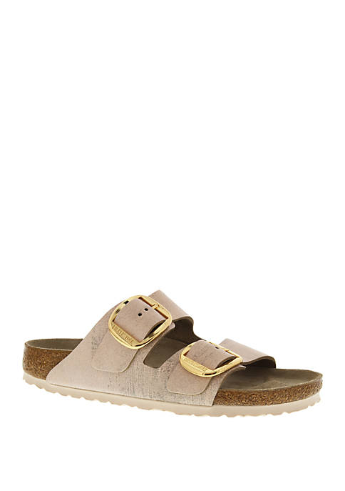 Birkenstock Arizona Big Buckle Washed Rose Sandals