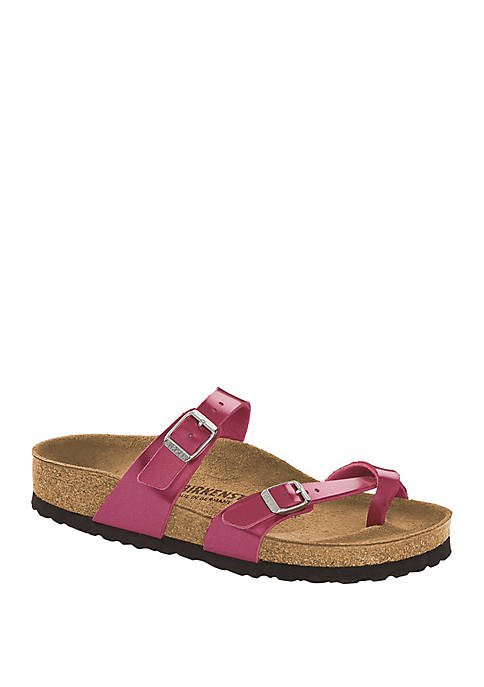 Mayari Electric Metallic Magenta Sandals