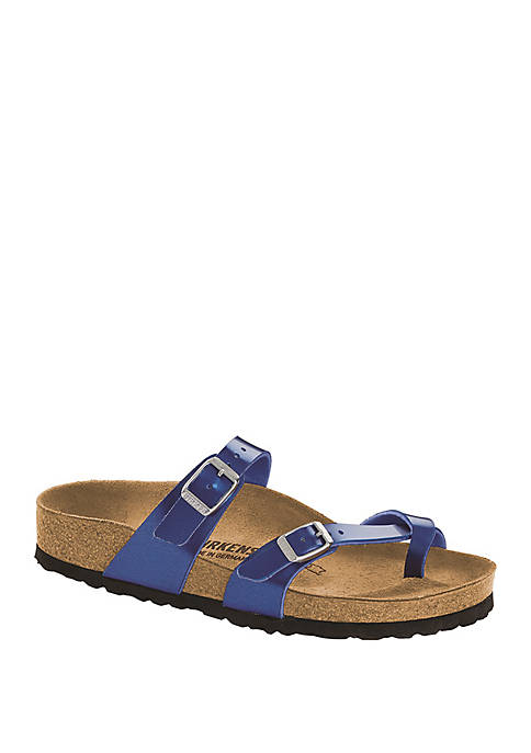 Birkenstock Mayari Electric Metallic Ocean Sandals