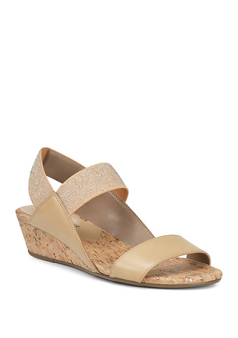 Donald J Pliner Elsie Wedge Sandals