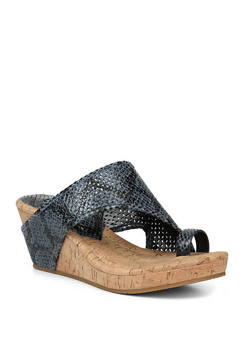 Donald J Pliner Gyer Wedge Sandals