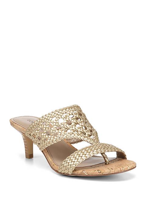 Donald J Pliner Kikki Woven Dress Sandals