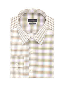 Big & Tall Check Print Long Sleeve Shirt
