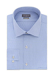 Mini Check Button Down Shirt