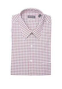 Gingham Long Sleeve Dress Shirt