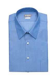 Regular Fit Chevron Tonal Button Down Shirt