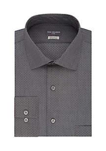 Regular Fit Flex Collar Dress Shirt