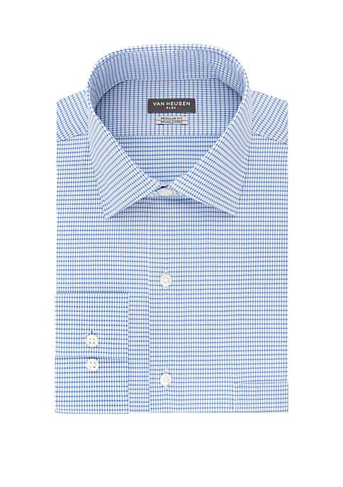 Regular Fit Flex Check Dress Shirt