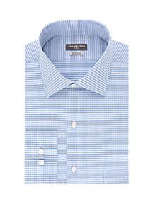 194f32afae48 ... Van Heusen Regular Fit Flex Check Dress Shirt