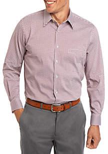 Van Heusen Regular Fit Flex Mini Check Dress Shirt