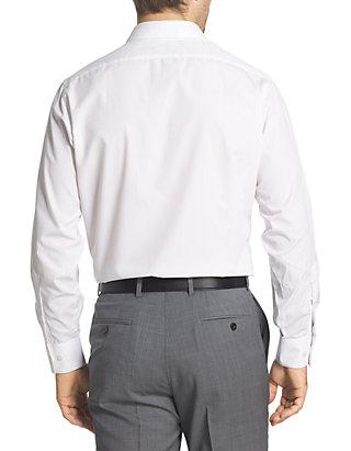 62cf31f0088 ... Van Heusen Fitted Poplin Solid Button Down Shirt