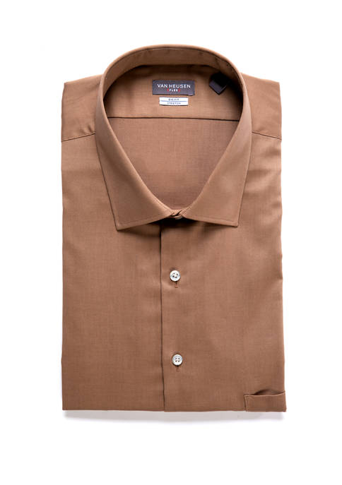 Big & Tall Big Fit Solid Dress Shirt