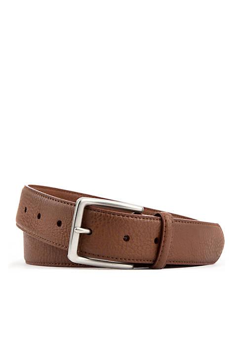 Casual Single Stitch Single Keeper Modern Flex Belt