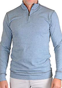 Mock Neck 1/4 Zip Pullover
