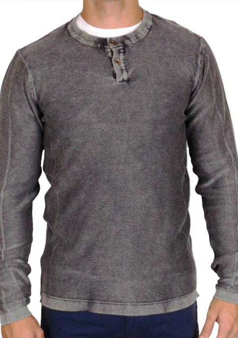 Vintage 1946 Mens Henley Sweater