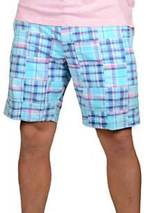 Patch Madras Shorts