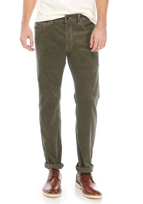 Mens Fashion Slim Thistle Pants