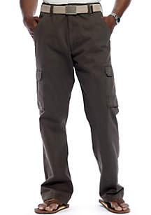 Straight Fit Cargo Pants