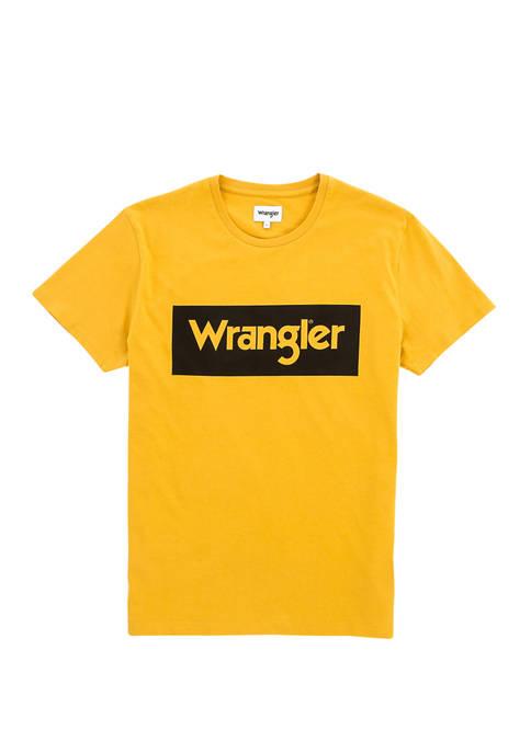 Mens Logo Tee Yellow Box
