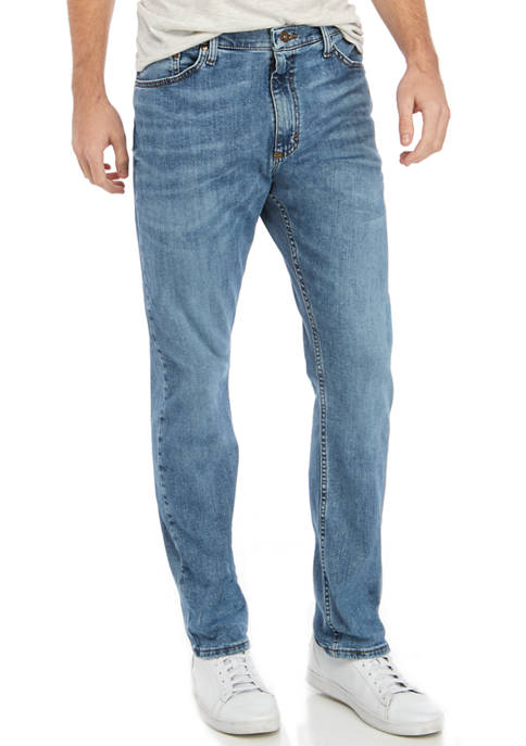 Mens Athletic Fit Isaac Jeans
