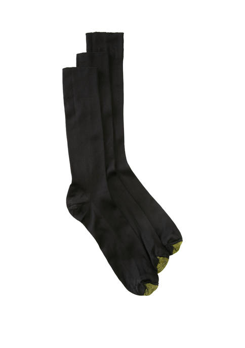 Big & Tall Extended Metropolitan Crew Socks