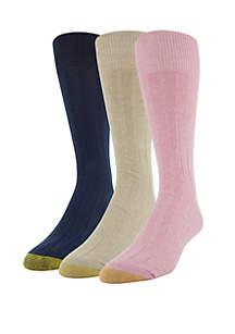 1c744c87c ... Gold Toe® Three-Pack Hampton Socks