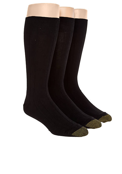 Gold Toe® 3-Pack Hampton Luxurious Socks