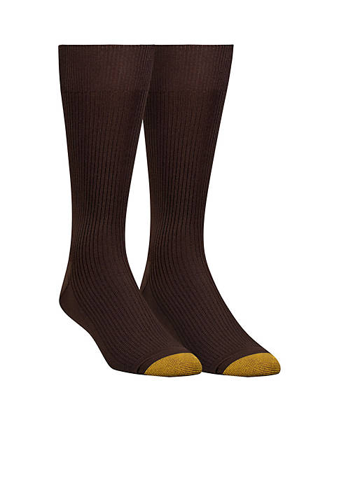 Gold Toe® Two-Pack Nylon Crew Socks