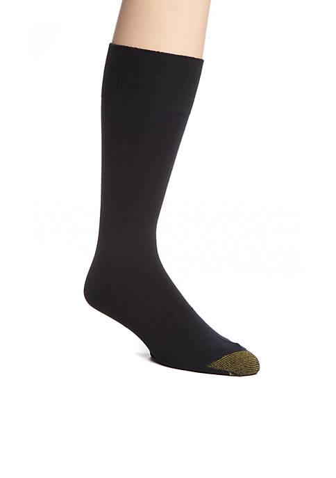 Gold Toe® 3-Pack Micro Flat Knit Socks