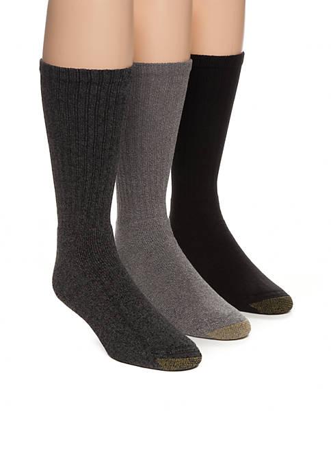 Gold Toe® Harrington Crew Socks