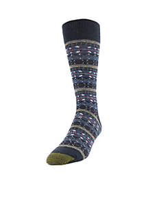 Fairisle Crew Socks