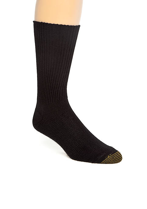 Gold Toe® Acrylic Fluffies Crew Casual Socks