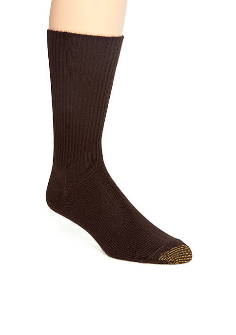 Gold Toe® Acrylic Fluffies Crew Casual Socks