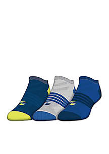 Power No Show Socks - 3-Pack