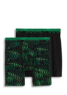 Jockey® Sport Micro Mesh Performance Midway Brief - 2 Pack