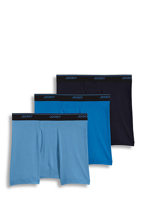 3 Pack Staycool+™ Boxer Briefs
