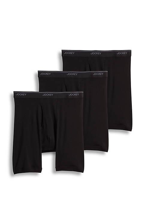 Jockey® 3 Pack Staycool+™ Midway Briefs