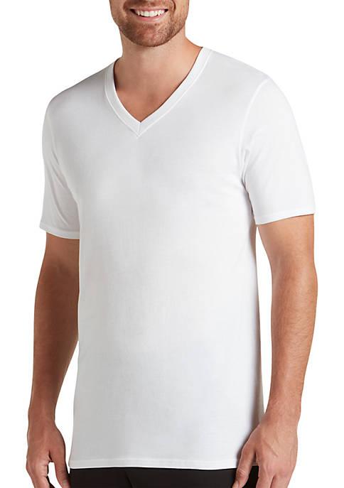 Jockey® Essential Fit Staycool+ V Neck T-Shirts