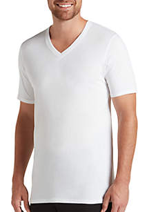 Big Man Essential Fit Staycool+ V Neck T-Shirts - 2 Pack