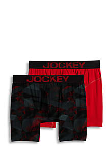2-Pack Athletic Rapidcool Boxer Briefs