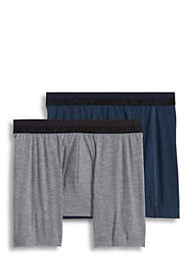 Sport Outdoor Boxer Briefs-2 Pack