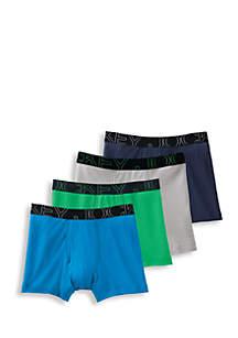 4 Pack ActiveBlend™ Boxer Briefs