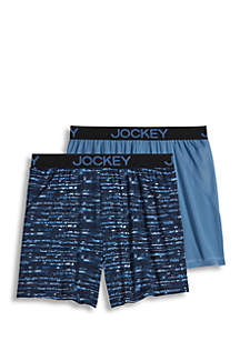 2-Pack Microfiber No Bunch Boxer