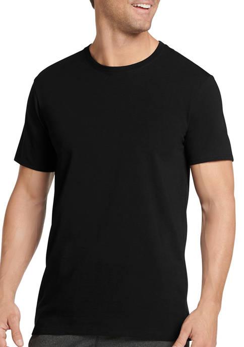 Jockey® 3 Pack Cotton Stretch Crew Neck T-Shirts